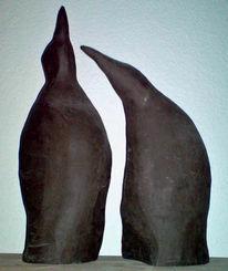 Skulptur, Ton, Aufbautechnik, Plastik
