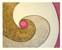 Hartfaser, Malerei, Abstrakt, Acrylmalerei