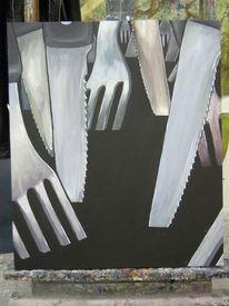 Hänsel und gretel, Messer, Gabel, Malerei
