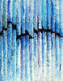 Segment, Blau, Zeitgenössische kunst, Abstrakt