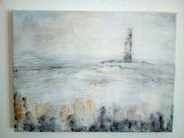 Freiheitsstatue, Abstrakt, Malerei, Schwarz weiß