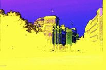 Berlin, Bundestag, Pastellmalerei, Malerei