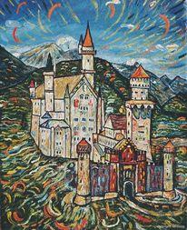 Kunst allgäu, Berge, Malerwinkel, Tourismus