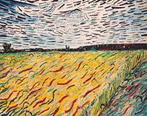 Buchloe, Impressionismus, Feld, Erdeverbunden