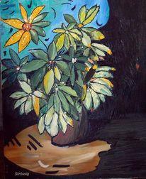 Blumentopf, Pflanzen, Topf, Blumen