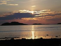 Sonnenuntergang, Fotografie, Wasser, Norwegen