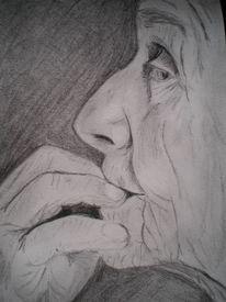 Oma, Alte frau, Alt, Portrait