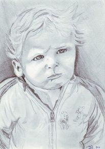Skizze, Zeichnung, Junge, Kind