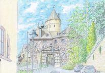 Burg, Schmuck, Restauriert, Altena