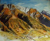Berge, Herbst, Natur, Sommer