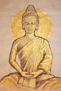 Sumi e, Asiatisch, Japanisch, Tuschmalerei