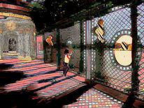 Käfig, Fenster, Pavillon, Outsider art