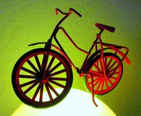 Digital art, Outsider art, Fahrrad, Fotografie