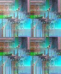 Digital bearbeitet, Outsider art, Digitale kunst, Surreal