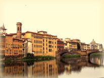 Outsider art, Florenz, Italien, Abend