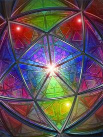 Farben, Symbol, Polyeder, Pentagon