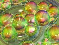 Kugel, Polichromatisches, Lichtreflexe, Welle