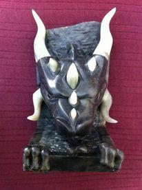 Figur, Speckstein, Drache, Skulptur