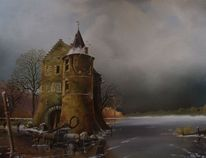 Landschaft, Lkw, Romantiek, Slusselloch slussel