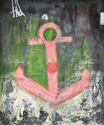 Anker, Malerei, Abstrakt