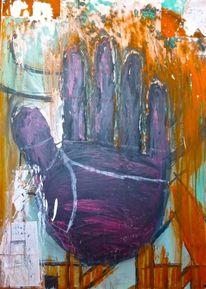 Lebenslinie, Malerei, Abstrakt