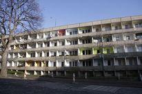 Ddr, Plattenbau architektur, Zone, Fotografie