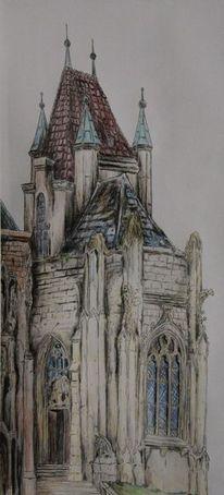 Alt, Gothic, Kapelle, Architektur
