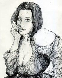 Neapel, Frau, Prominent, Schauspieler