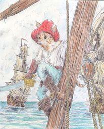 Pirats, Seabattle, See, Seeräuber
