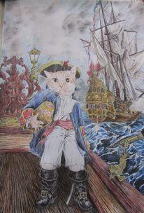 Kapitän, Seafight, Schatz, Pirat