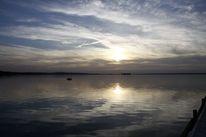 Wasser, See, Steinhuder meer sonnenuntergang, Sonne