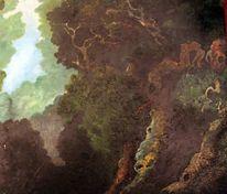 Wald, Ölmalerei, Romantik, Baum