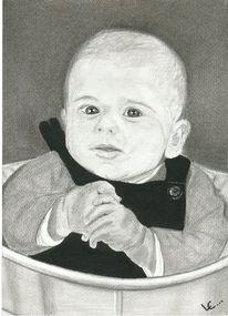 Junge, Portrait, Eimer, Bruder