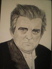 Opa, Portrait, Mann, Zeichnungen