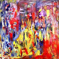 Rot, Gelb, Blau, Malerei