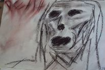 Expressionismus, Leere, Schwarz, Gestalt