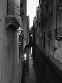 Night, Walk, In, Venice