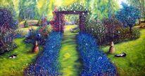 Ölmalerei, Malschule, Malerei, Serie