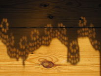 Fotografie, Schatten, Holz