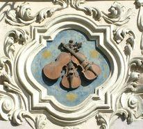 Musik, Musikinstrument, Geige, Haus