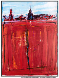 Horizont, Berlin, Schatten, Acrylmalerei