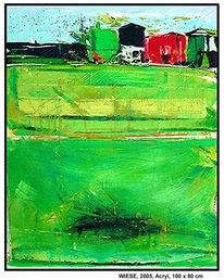 Moderne kunst, Abstrakt, Malerei, Licht