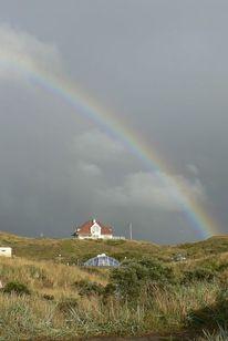 Regenbogen, Texel, Camping kogerstrand, Nordholland