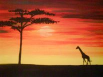 Afrika, Malerei