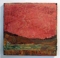 Marmorspachtelung, Patina, Abstrakt, Acrylmalerei