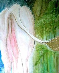 Weiß, Malerei, Mitbewohner, Grün
