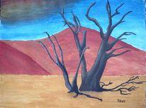 Wüste, Baum, Dürre, Natur