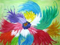 Bunt, Farben, Spiel, Malerei