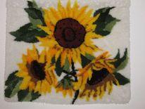 Sonnenblumen, Knüpfen, Zeichnungen, Blumen