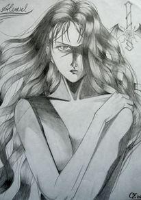 Manga, Alexiel, Zeichnungen